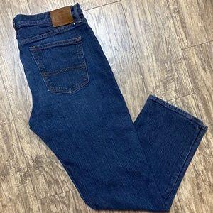 Lucky Brand Jeans 363 Straight Fit Dark Wash 38x32